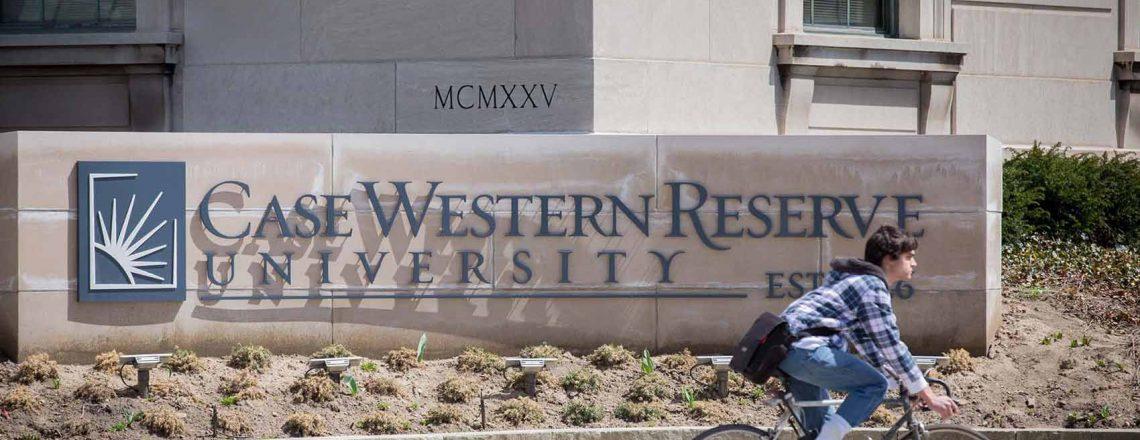 Case Western Reserve University Signage